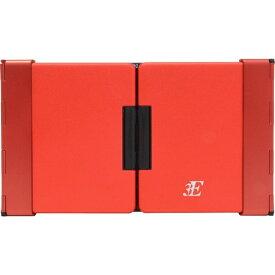 3E スリーイー 【スマホ/タブレット対応】ワイヤレスキーボード[Bluetooth・Android/iOS/Win・英語79キー]TENPLUS(テンプラス) 3E-BKY7-BR レッド[3EBKY7BR]