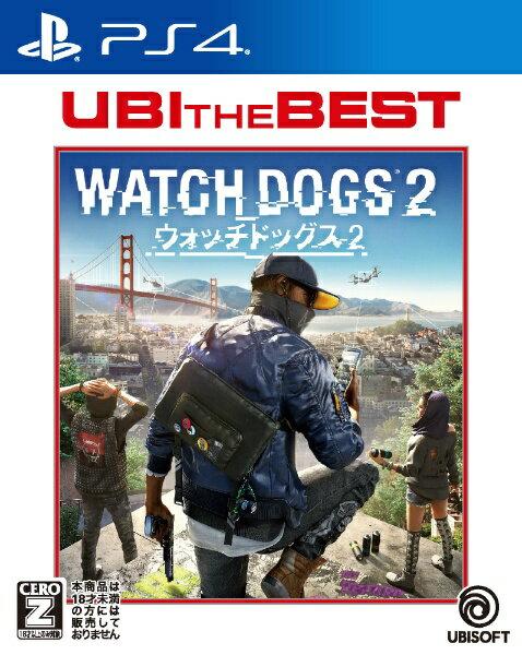 ユービーアイソフト ユービーアイ・ザ・ベスト ウォッチドッグス2【PS4】