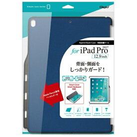 ナカバヤシ Nakabayashi 12.9インチiPad Pro用 背面保護ケース TBC-IPP1715BL ブルー