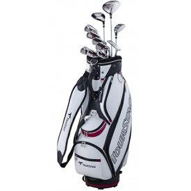 ブリヂストン BRIDGESTONE メンズ ゴルフクラブ TOUR STAGE V002 11本セット《キャディバッグ付》S