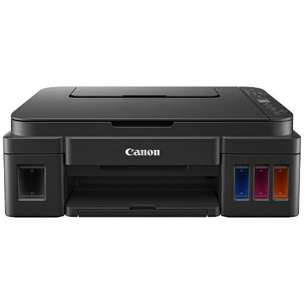 キヤノン CANON G3310 インクジェット複合機 ブラック [カード/名刺〜A4][G3310]【プリンタ】