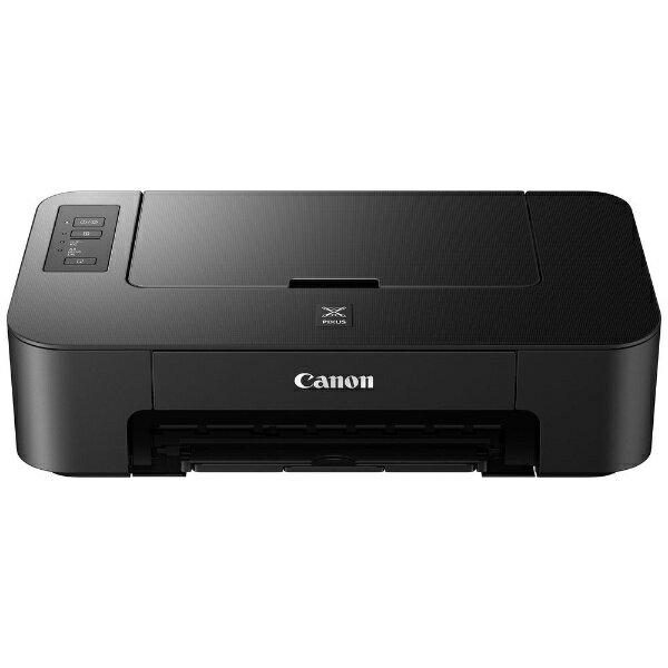 【送料無料】 キヤノン CANON A4カラーインクジェットプリンター[USB2.0・Mac/Win] PIXUS TS203 ブラック