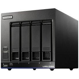 I-O DATA アイ・オー・データ ネットワークHDD 2TB[有線LAN/USB3.0・Android/iOS/Mac/Win] 高性能CPU&NAS用HDD WD Red搭載 4ドライブ スタンダードビジネスNAS HDL4-X2 ブラック [据え置き型][HDL4X2]