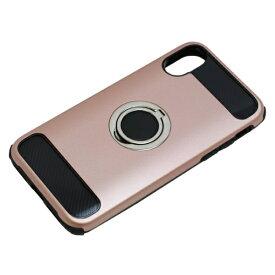 バウト BAUT iPhoneX用 ジャケットリング付き 耐衝撃 BCJI1703PK ピンク