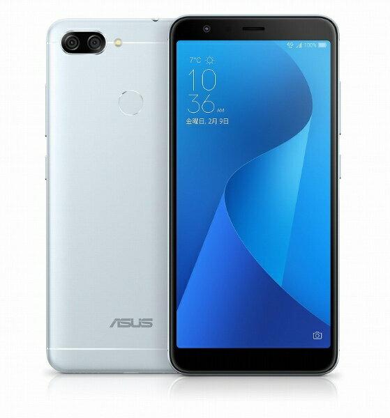 【送料無料】 ASUS エイスース Zenfone Max Plus M1 アズールシルバー 「ZB570TL-SL32S4」 Android 7.0・5.7型・メモリ/ストレージ:4GB/32GB nanoSIMx2 SIMフリースマートフォン ZB570TL-SL32S4 アズールシルバー[ZB570TLSL32S4]