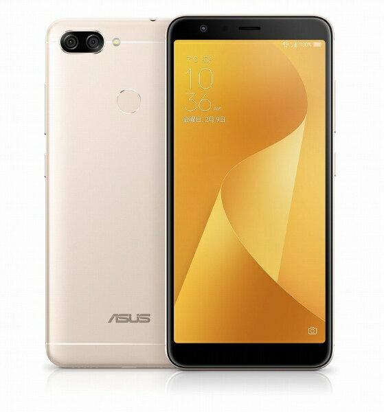 【送料無料】 ASUS Zenfone Max Plus M1 サンライトゴールド 「ZB570TL-GD32S4」 5.7型・メモリ/ストレージ:4GB/32GB nanoSIMx2 SIMフリースマートフォン[ZB570TLGD32S4]