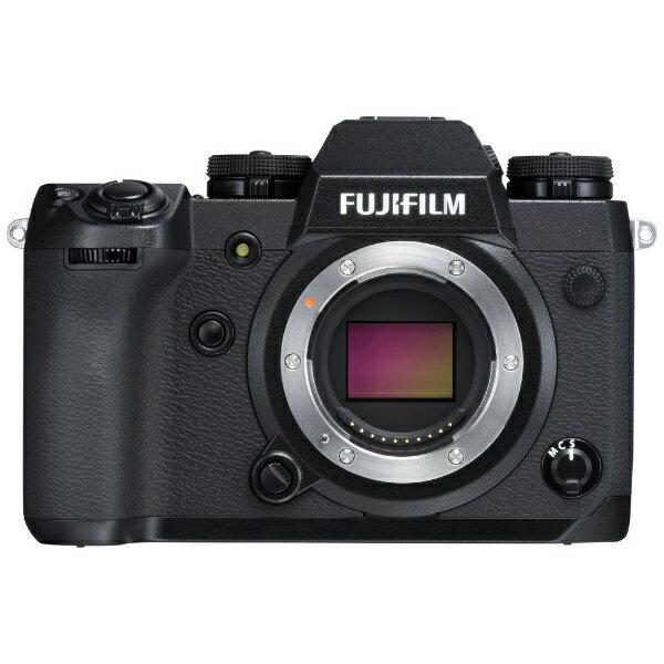富士フイルム FUJIFILM FUJIFILM X-H1【ボディ(レンズ別売)/ミラーレス一眼カメラ】[FXH1]