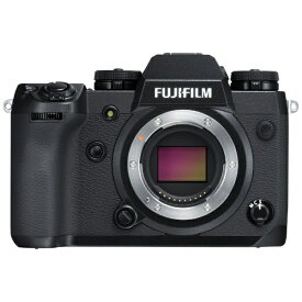 富士フイルム FUJIFILM X-H1 ミラーレス一眼カメラ ブラック [ボディ単体][FXH1]