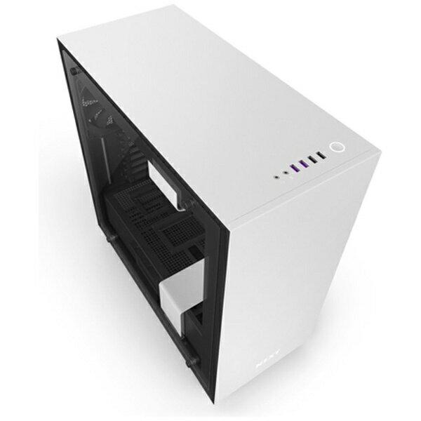 【送料無料】 NZXT PCケース H700i インテリジェント CA-H700W-WB ホワイト