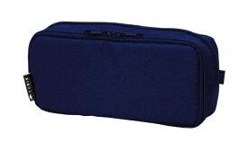 エムプラン M-PLAN [ペンケース]ペンケース ラウンドジップ ボックス ネイビー 106163-08
