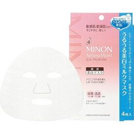 第一三共ヘルスケア DAIICHI SANKYO HEALTHCARE ミノンアミノモイスト うるうる美白ミルクマスク 20ml×4枚