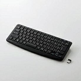 エレコム ELECOM TK-FDM091STBK キーボード ミニ 静音 ブラック [USB /ワイヤレス][TKFDM091STBK]