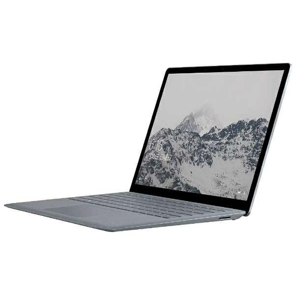 【送料無料】 マイクロソフト Microsoft Surface Laptop 13.5型タッチ対応ノートPC[Office付き・Windows 10 S・Core i5・SSD 256GB・メモリ 8GB] DAG-00106 プラチナ