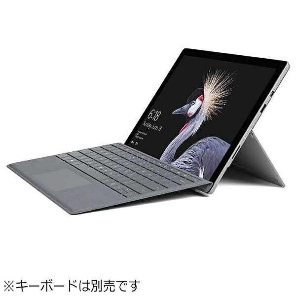 【送料無料】 マイクロソフト キーボード別売「Surface Pro(Core i5/256GB/8GB/ペン非同梱モデル)」 Windowsタブレット[Office付き・12.3型] FJX-00031 シルバー