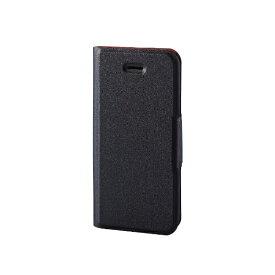 エレコム ELECOM iPhone SE(第1世代)4インチ/5s/5 ソフトレザーカバー 薄型 磁石付 手帳型ケース