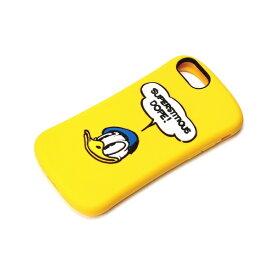 PGA iPhone8/7/6s/6用 シリコンケース ドナルドダック/イエロー PG-DCS388DND