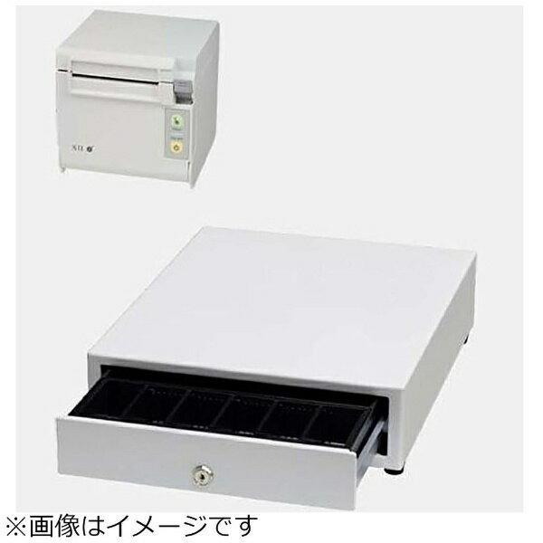 セイコーインスツル AirレジAセット(白) レシートプリンター RP-D10-W27J2-B/キャッシュドロア DRW-A01-W[エアレジAセットシロ]