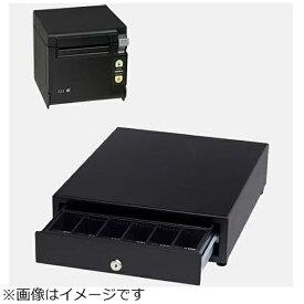 セイコーインスツル Seiko Instruments AirレジAセット(黒) レシートプリンター RP-D10-K27J2-B/キャッシュドロア DRW-A01-K[エアレジ Aセット ブラック]