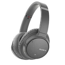 ソニー SONY ブルートゥースヘッドホン グレー WH-CH700N HM [リモコン・マイク対応 /Bluetooth /ノイズキャンセリング対応][ワイヤレスヘッドホン WHCH700NHM]