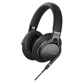 ソニー SONY ヘッドホン MDR-1AM2 BQ ブラック [リモコン・マイク対応 /φ3.5mm ミニプラグ /ハイレゾ対応][MDR1AM2BQ]