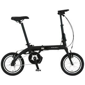 ジック 14型 電動折りたたみ自転車 ULTRA LIGHT E-BIKE TRANS MOBILLY(ブラック/シングルシフト) 92201-01 140E-BK【組立商品につき返品不可】【b_pup】 【代金引換配送不可】