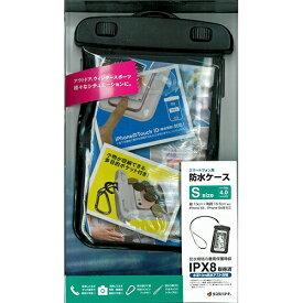 ラスタバナナ RastaBanana ポケット付きスマートフォン防水ケース Sサイズ RBCA189 ブラック