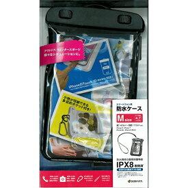 ラスタバナナ RastaBanana ポケット付きスマートフォン防水ケース Mサイズ RBCA192 ブラック
