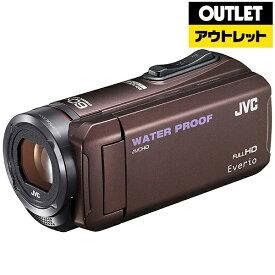 JVC ジェイブイシー 【アウトレット品】ビデオカメラ Everio(エブリオ) [メモリ 32GB/フルハイビジョン] GZ-R300 ブラウン【生産完了品】 GZR300T 【kk9n0d46p】