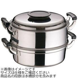 神子島製作所 《IH対応》 桃印18-0丸型蒸器 27cm 2段 <AMS72272>[AMS72272]