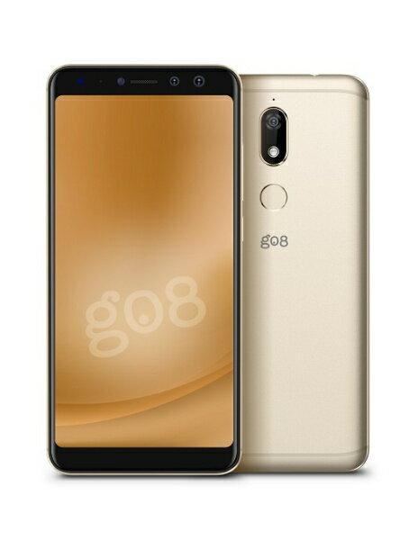 【送料無料】 WIKO gooのスマホ g08ゴールド「VIEWPRIME-GOLD」 Snapdragon 4301 5.7型メモリ/ストレージ:4GB/64GB nanoSIM×2 SIMフリースマートフォン[VIEWPRIMEGOLD]