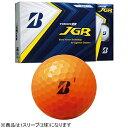 ブリヂストン BRIDGESTONE ゴルフボール JGR オレンジ 8JOX [3球(1スリーブ) /ディスタンス系]【オウンネーム非対応】