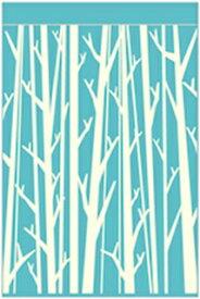 丸眞 タオルケット ウッドパターン シングルサイズ(140×190cm/ブルー)