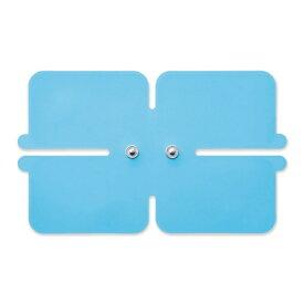 エレコム ELECOM コードレス低周波治療器エクリアリフリー専用ゲルパッドワイドパッド1枚入り/ブルー HCM-P01G3BU[HCMP01G3BU]