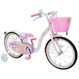 アイデス ides 18型 幼児用自転車 プリンセスゆめカワ(プリンセスデザイン/ピンク) 【代金引換配送不可】