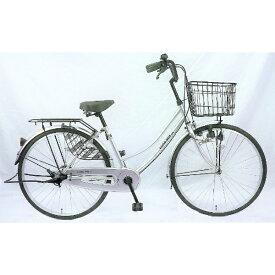 サイモト自転車 SAIMOTO 26型 自転車 パティオボックスSE(シルバー/シングルシフト) FW-B260BA-BC-BAA【組立商品につき返品不可】【b_pup】 【代金引換配送不可】【メーカー直送・代金引換不可・時間指定・返品不可】