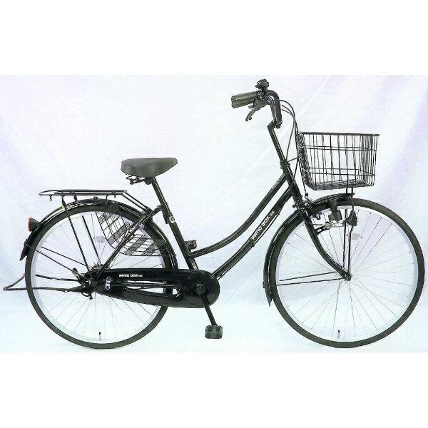 【送料無料】 サイモト自転車 26型 自転車 パティオボックスSE(ブラック/シングルシフト) FW-B260BA-BC-BAA 【代金引換配送不可】【メーカー直送・代金引換不可・時間指定・返品不可】