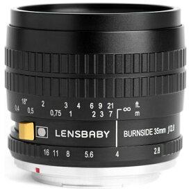 レンズベビー LENSBABY カメラレンズ Burnside35(バーンサイド35) ブラック [キヤノンEF /単焦点レンズ][BURNSIDE35]