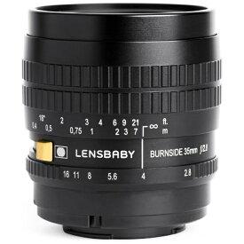 レンズベビー LENSBABY カメラレンズ Burnside35(バーンサイド35) ブラック [マイクロフォーサーズ /単焦点レンズ][BURNSIDE35]
