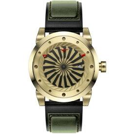 ZINVO ジンボ ZINVO(ジンボ)「自動巻きタービン型秒針時計」 GOLD GOLD
