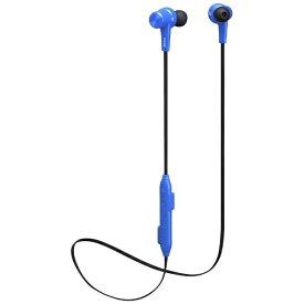 マクセル Maxell ブルートゥースイヤホン カナル型 MXH-BTC300BL ブルー [リモコン・マイク対応 /ワイヤレス(ネックバンド) /Bluetooth][MXHBTC300BL]