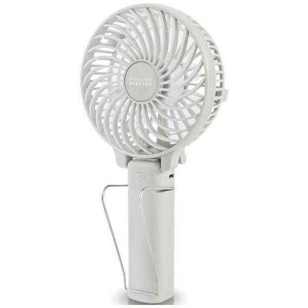 阪和 HANWA 充電式小型扇風機 「PRISMATE マルチハンディファン」(6枚羽根) PR-F015-WH ホワイト