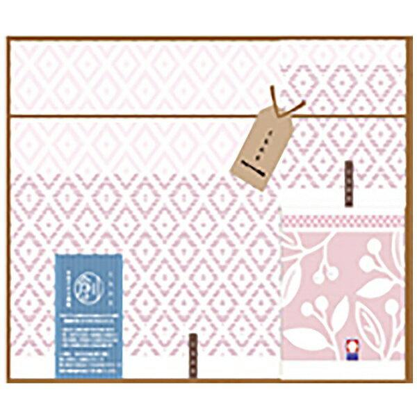 丸眞 ギフトタオル おり織り(BT1・WT2) ピンク