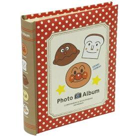 ナカバヤシ Nakabayashi アンパンマン 背丸ブック式アルバム L判160枚収納(レッド) アBPL16021
