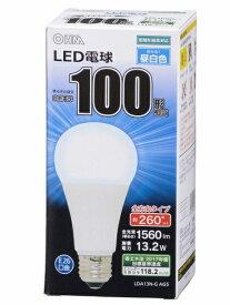オーム電機 OHM ELECTRIC LDA13N-G AG5A LED電球 ホワイト [E26 /昼白色 /1個 /100W相当 /一般電球形 /全方向タイプ][LDA13NGAG5A]