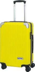 アウトドアプロダクツ OUTDOOR PRODUCTS スーツケース ファスナーキャリー 40L(45L) イエロー OD-0757-50-YE