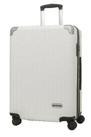 アウトドアプロダクツ OUTDOOR PRODUCTS スーツケース ファスナーキャリー 63L(72L) ホワイトヘアーライン OD-0757-60-WHH