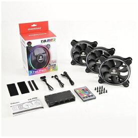 ENERMAX エナーマックス ケースファン[120mm / 500〜1500RPM] T.B.RGB 3個パック UCTBRGB12-BP3 RGB LED
