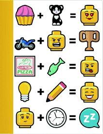 LEGO レゴ [ノート] LEGO Iconic ノートブック 37542 ホワイト