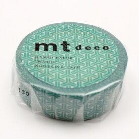カモ井加工紙 KAMOI mt1P 組亀甲・緑青(ろくしょう) MT01D413