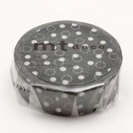カモ井加工紙 KAMOI mt1P 雪輪・緑鼠(みどりねず) MT01D417